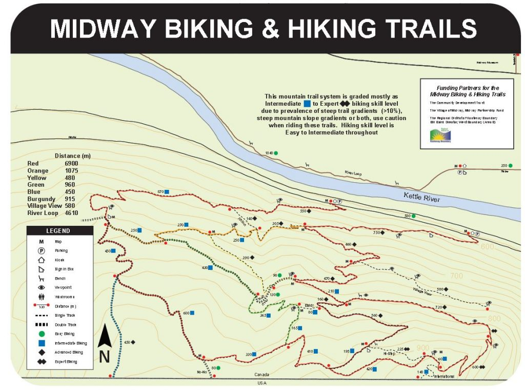 Rails To Trails Idaho Map.Hiking Biking Trails The Village Of Midway