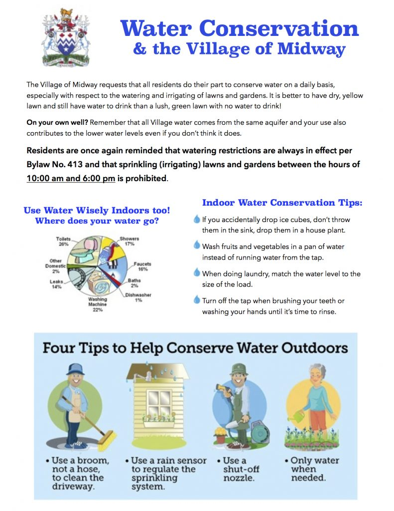Midway Water Conservation